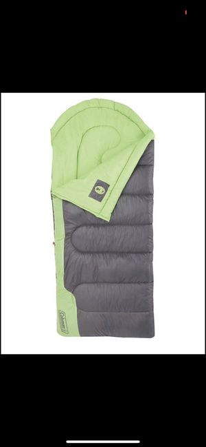 Coleman Raymer 40 Degree Tall Sleeping Bag, Green/Gray NEW - 3 available for Sale in San Marcos, CA