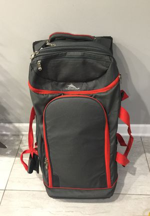 High Sierra Rolling duffle Bag & Back Pack for Sale in Buffalo Grove, IL