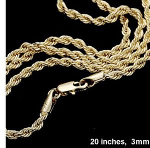 New Gold Plated Rope Chain for Sale in Parkville, MD