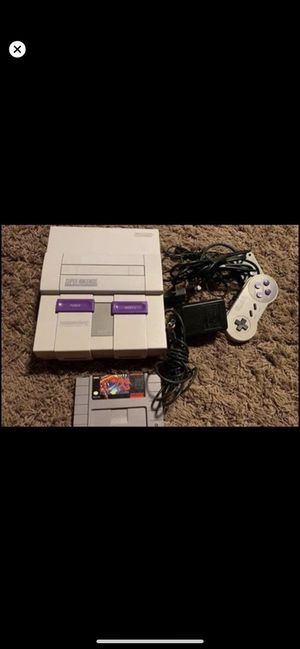 Super Nintendo system and super Metroid for Sale in Winter Haven, FL