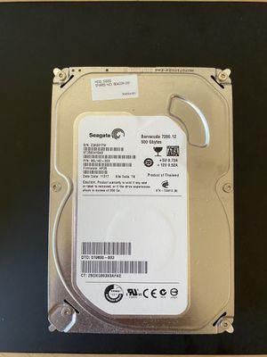 Seagate 500Gb desktop hard drive 7200rpm for Sale in Alhambra, CA