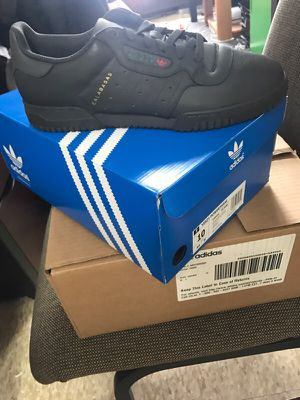 Yeezy power phase black size 10 for Sale in Bloomington, IL