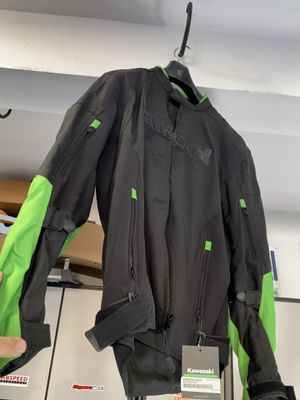 Brand new Large Kawasaki Motorcycle Jacket. Never worn for Sale in Santa Ana, CA