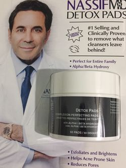 Nassif MD Detox Complexion Perfecting Pads 60 for Sale in Santa Ana,  CA