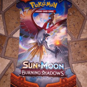 Brand New Pokemon Sun And Moon Burning Shadows Booster Packs $8 Each 2 For15 for Sale in Orlando, FL
