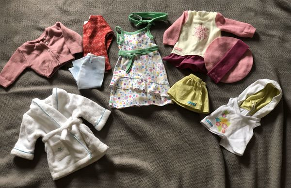 """American Girl Clothes 11 pcs. 18"""" Doll"""