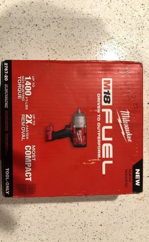 Milwaukee M18 Fuel 2767-20 for Sale in Seattle, WA