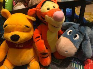 DISNEY Winnie The Pooh / Tigger / Eeyore/ Rabbit for Sale in Waxahachie, TX