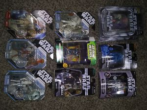 Star Wars Action Figures Boba Fett stormtrooper Princess Leia etc for Sale in Reedley, CA