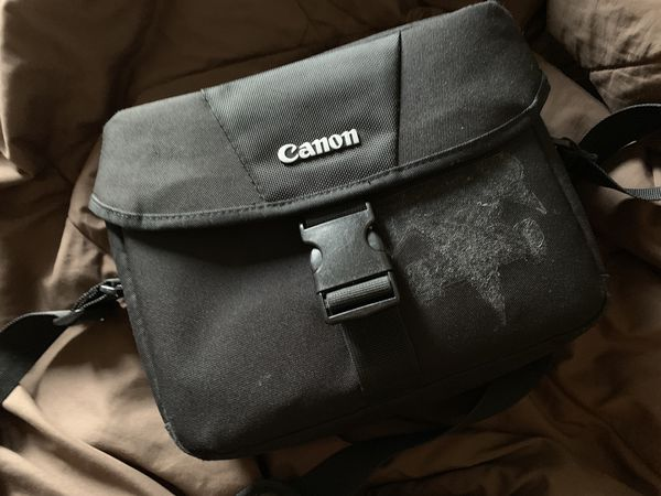 Canon Rebel T6 Camera W/ 2 lenses and bag