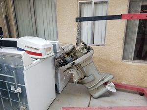 evinrude 50 hp outboard motor for Sale in Las Vegas, NV