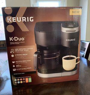 Keurig K.DUO Single Serve And Carafe Coffee Maker (Black) for Sale in Las Vegas, NV