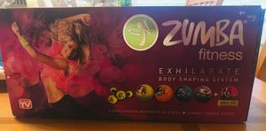 Zumba exhilarate DVD set with weights for Sale in Hacienda Heights, CA