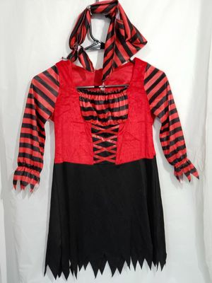 Pirate Halloween Costume Girls sz-7/8 for Sale in Camp Hill, PA