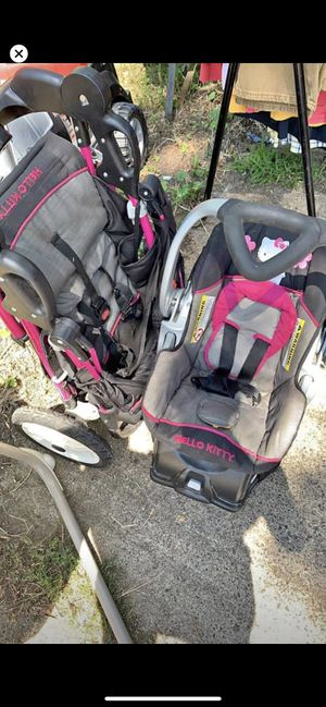 Joggers and car seat for Sale in Forest Lake, MN