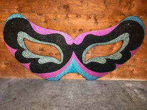 Huge Masquerade Mask Wall Decoration for Sale in Washington, DC