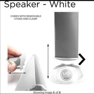 White speaker 3.5 mm clip on new for Sale in Redlands, CA