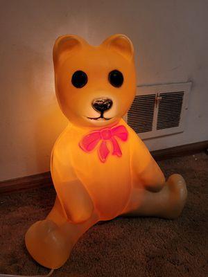 teddy bear blowmold for Sale in Westchester, IL