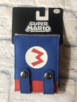 Super Mario and Super Nintendo Wallets for Sale in Bolingbrook, IL