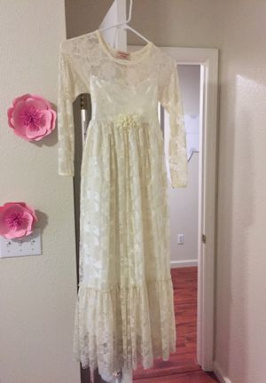 Kids flower girl dress for Sale in Modesto, CA