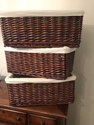 Storage baskets for Sale in Franklin, TN