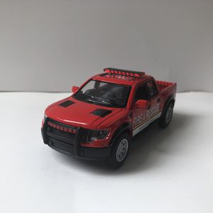 NEW 2013 Red Fire Rescue Engine Ford F-150 Pickup Truck SVT Raptor Supercrew Car Toy Diecast Metal Model for Sale for sale  Trenton, NJ