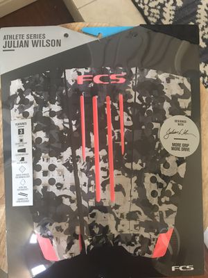 FCS Julian Wilson - Camp Blood Orange tail pad for Sale in Mission Viejo, CA