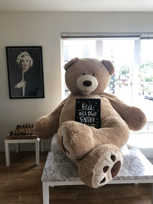 8 ft. Giant Teddy Bear!! for Sale in Portland, OR