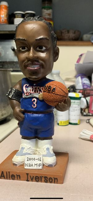 Allen iverson bobbleheads and bank for Sale in PA, US