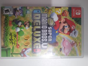 Super Mario Bros u deluxe for Sale in Brandon, FL