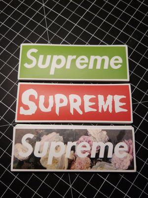 Supreme box logo stickers 21 for Sale in Las Vegas, NV