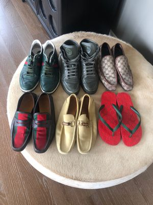 Authentic Gucci Shoes!!! Just in time for Spring!!! All must go! Sizes 10-11 for Sale in Dallas, TX