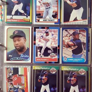 ☆ KIRBY PUCKETT BASEBALL CARDS ☆ for Sale in Columbus, OH