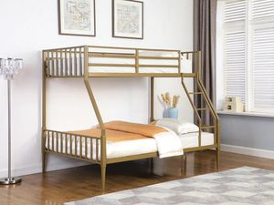 Gold TWIN/FULL BUNK BED for Sale in Hollywood, FL