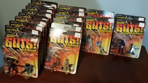 19 Vintage Unopened 2 Pack Mattel Guts Action Figure Sets Rare Collection for Sale in Allentown, PA