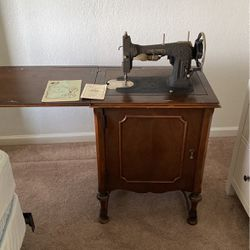 Antique Sewing Machine White Brand for Sale in Lincoln,  CA