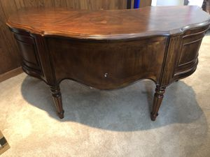 Cherry Wood Desk (Originally $4000) for Sale in Huntington Beach, CA