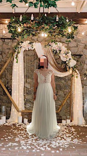 Brand new sheer girl wedding dress for Sale in Hudson, FL