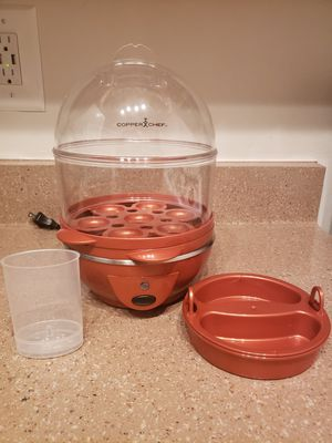 Egg Cookers Copper Chef Perfect Egg Maker, 14-Egg Capacity for Sale in Alexandria, VA