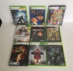 9 Xbox 360 games for Sale in Houston, TX