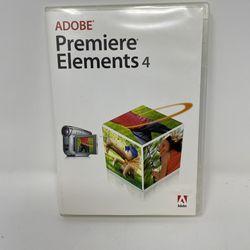 Adobe Premiere Elements 4 Software for Sale in Seattle,  WA