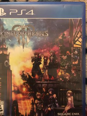 Kingdom hearts 3 for ps4 for Sale in Victorville, CA