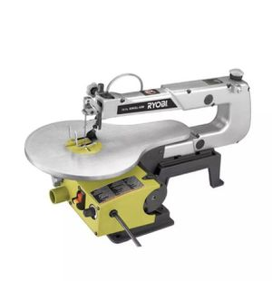 RYOBI Scroll Saw 16 in. 1.2 Amp Corded Induction Motor Keyless Blade Change for Sale in Maple Valley, WA