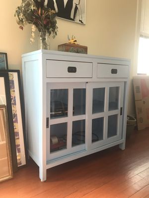 Antique Light Blue Chest for Sale in Chicago, IL