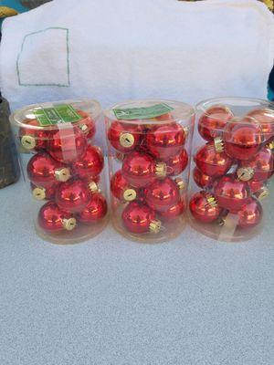 Mini Glass Christmas ornaments for Sale in Orlando, FL