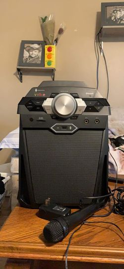 Vibe bluetooth speaker and karaoke machine for Sale in Spring Hill,  FL