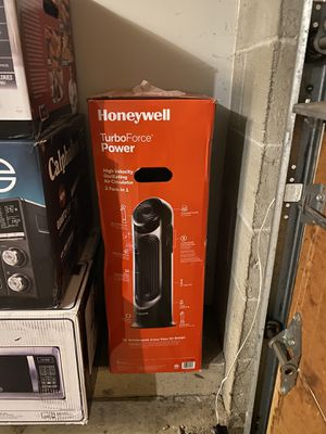 Honeywell Turbo force 2in 1 tower oscillating fan black for Sale in Galloway, OH