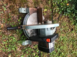 """Delta 10"""" motorized miter box for Sale in Dallas, GA"""