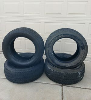 Tires- Firestone Transforce 20 inch LT285/60R20 -only used 20k miles for Sale in Albuquerque, NM