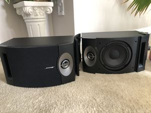 Bose 201 Black (Pair) Series V Direct Reflecting Bookshelf Speakers for Sale in Sunbury, OH